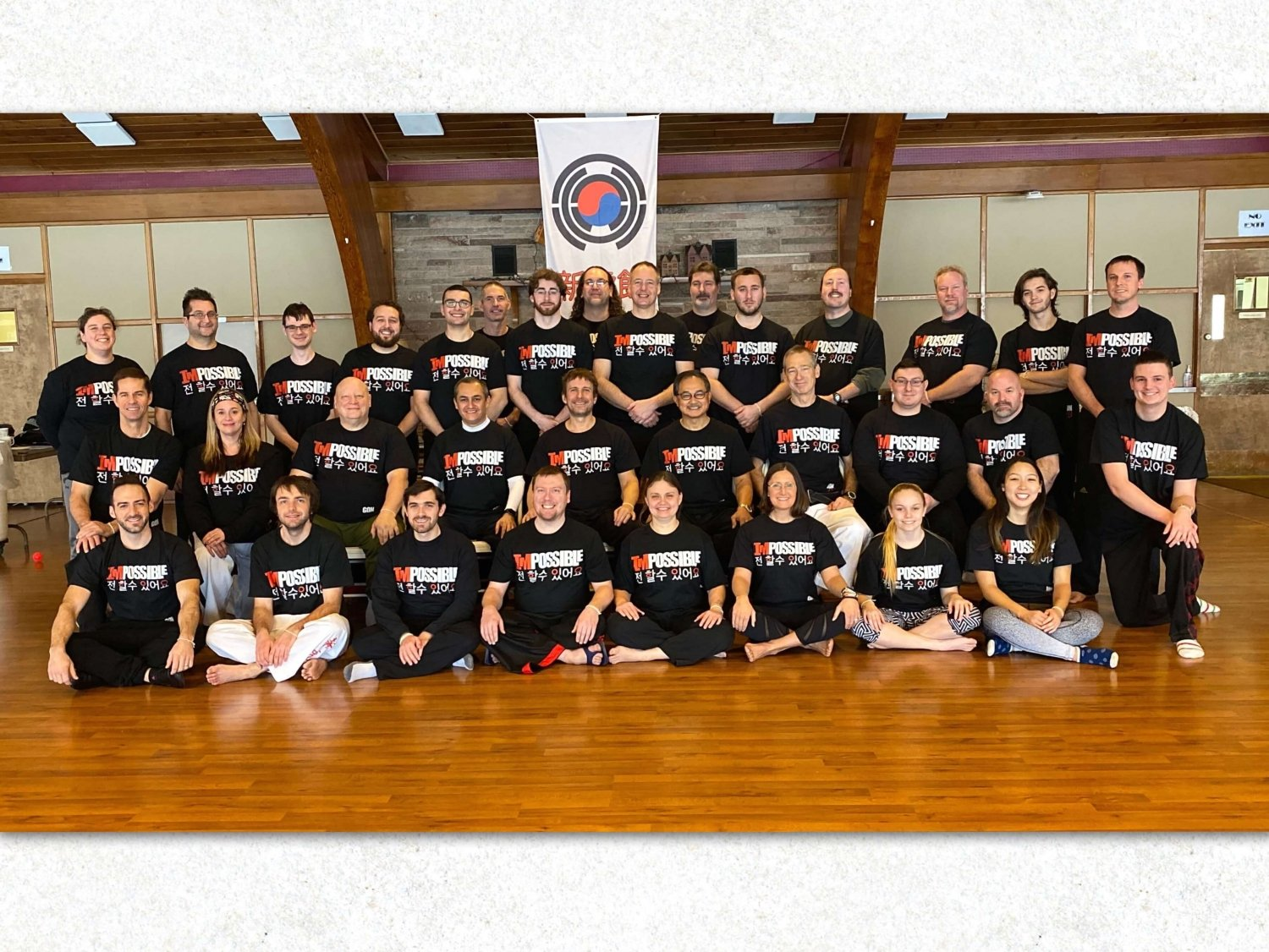 Shin Ho Kwan Black Belt Retreat 1